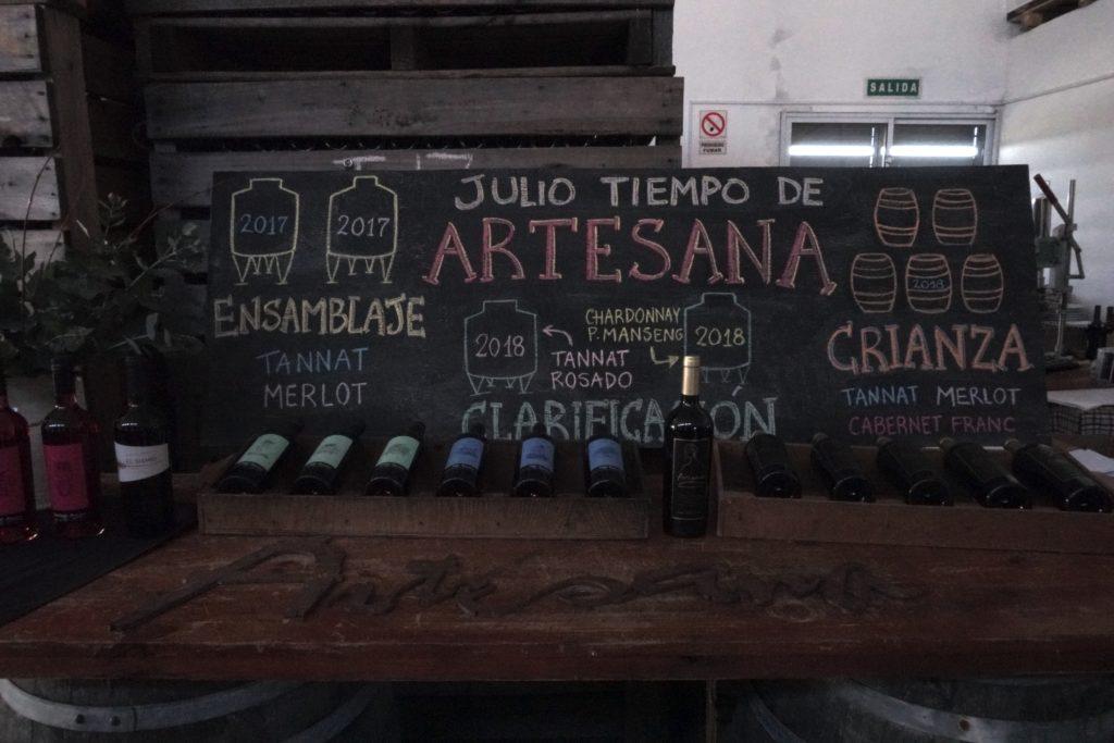 Bodega Artesana  - vinicolas Uruguai