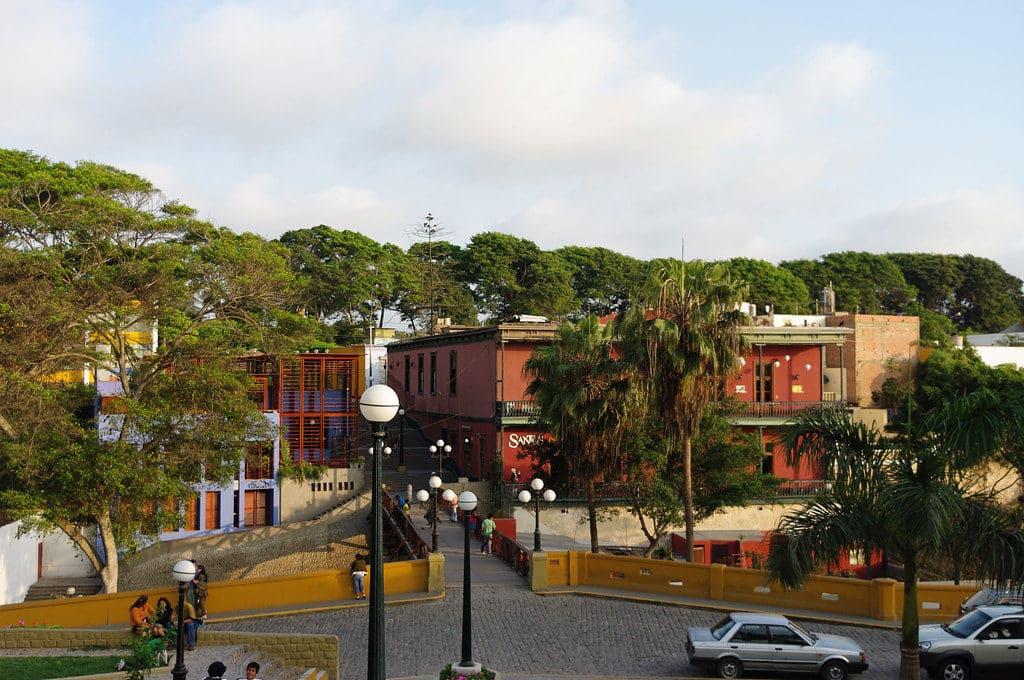 Foto de área do bairro Barranco, em Lima
