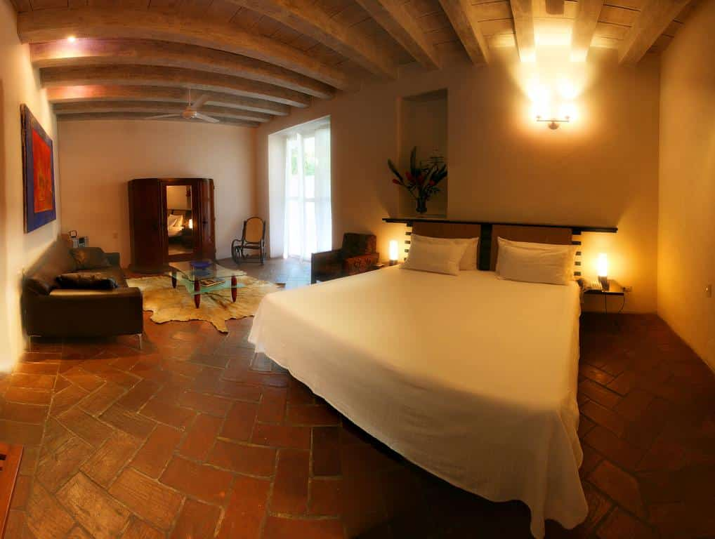 Quarto de casal do Estancia de La Mantilla hotel em Cartagena