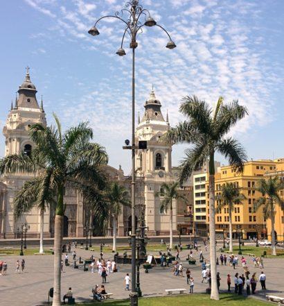 Hoteis em Lima Peru - Plaza das Armas