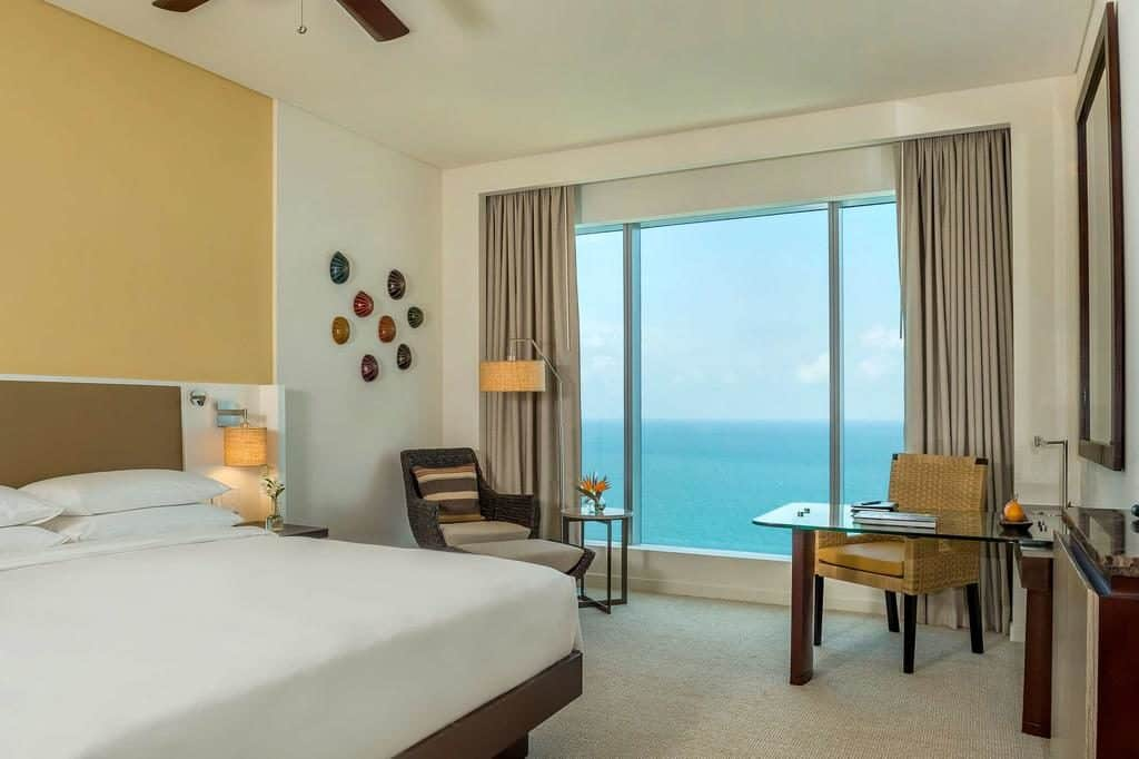 quarto do Hyatt Regency Cartagena