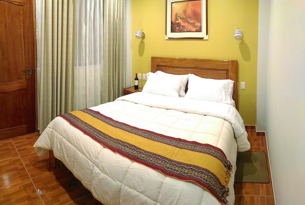 Quarto no Picos House, opção de hotel em Machu Picchu