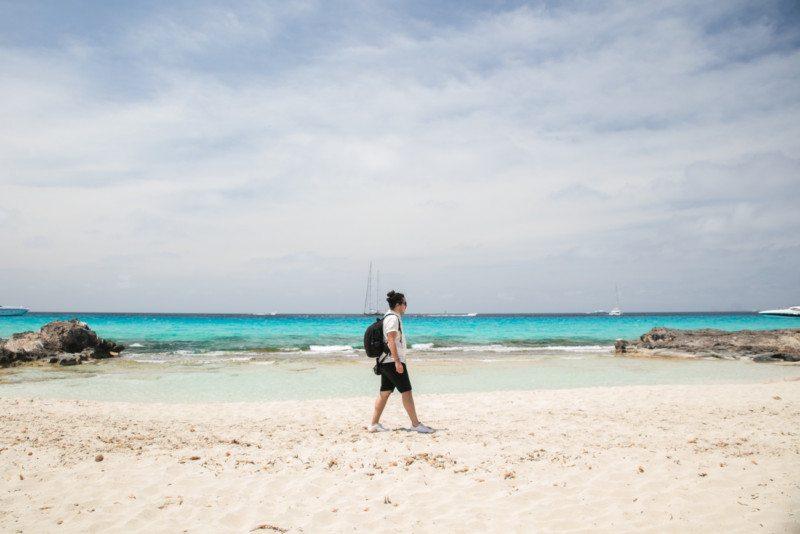 Ilha da Formentera na Espanha