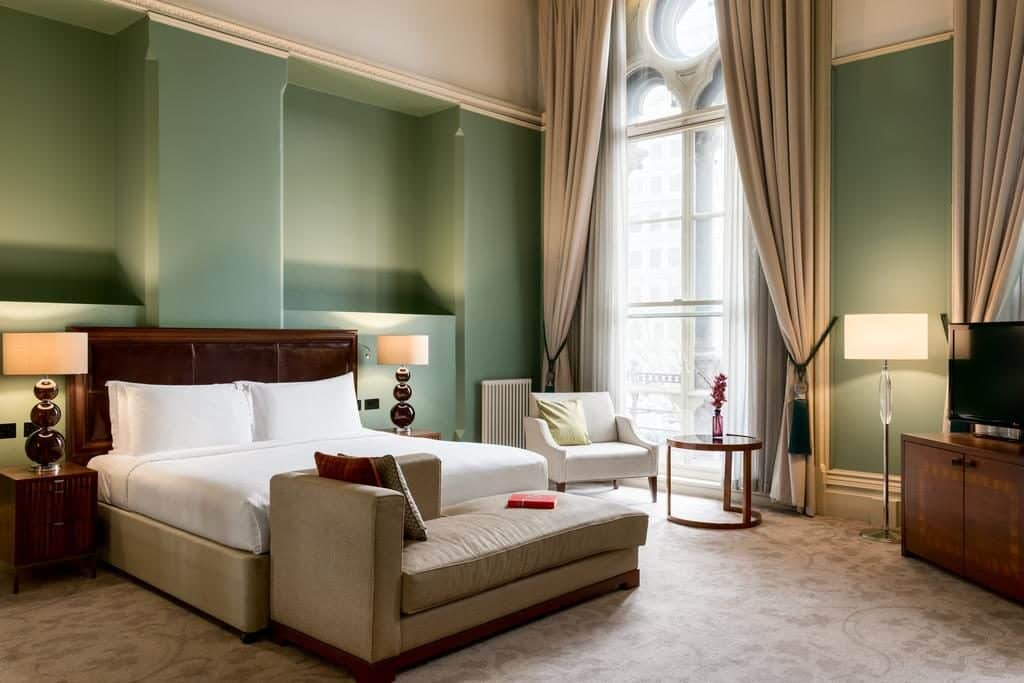 Quarto de casal do Saint Pancras Renaissance Hotel London