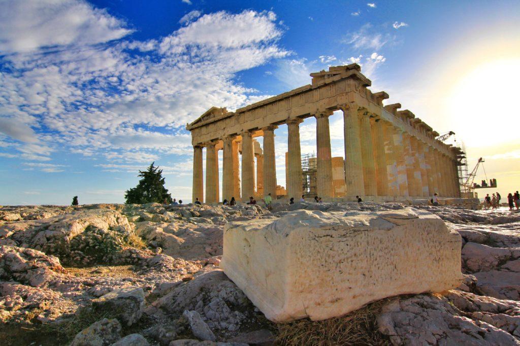cidade de Atenas na Grécia.