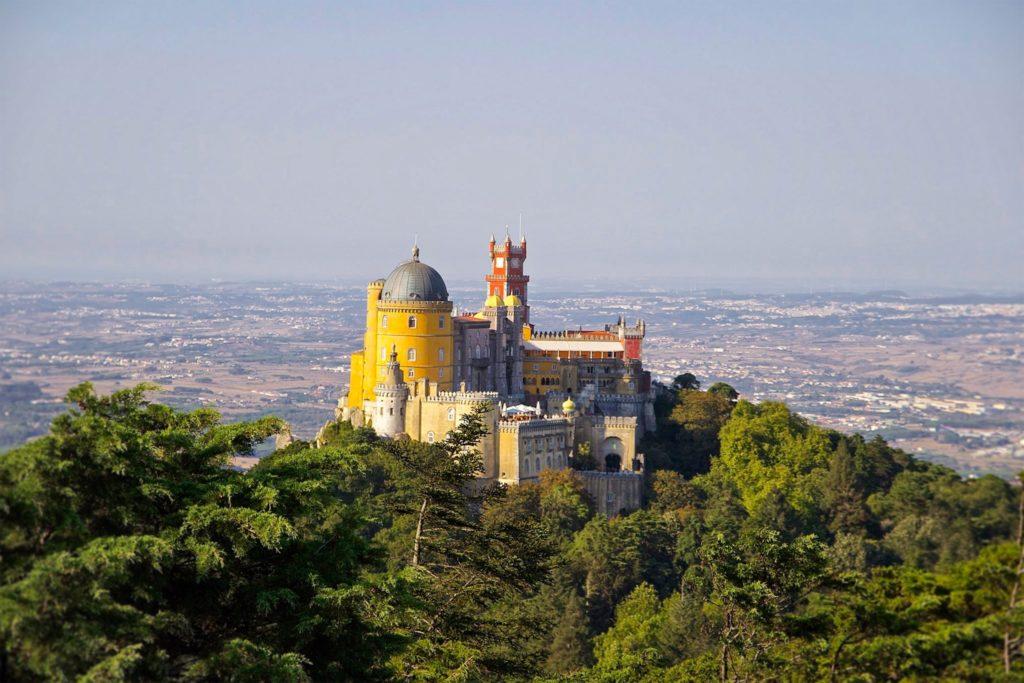 Cidade de Sintra em Portugal