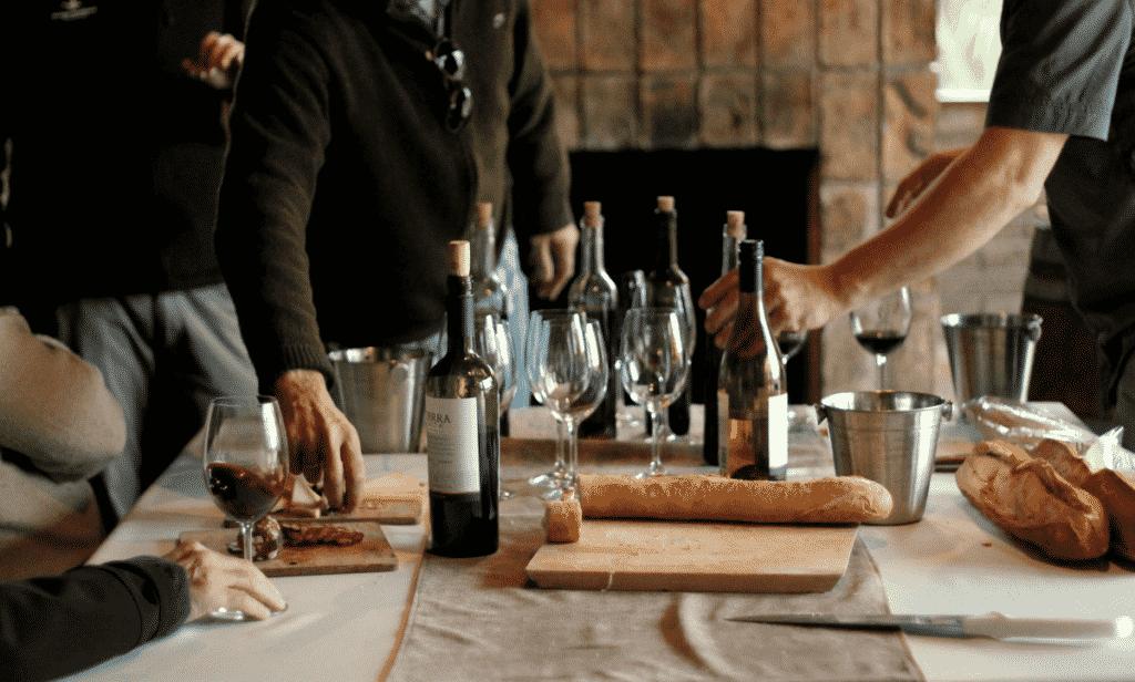 Degustação de vinhos reserva na Bodega Spinoglio