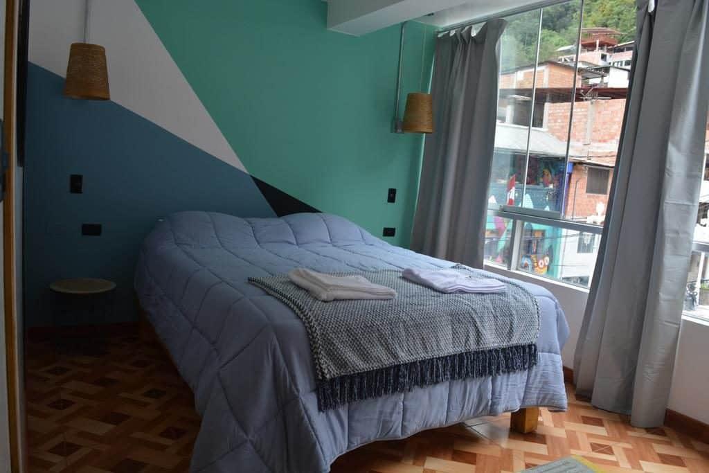 Foto de quarto no hostel Supertramp em Machu Picchu