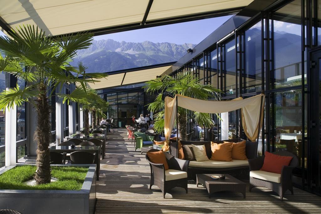 Area externa The PENZ Hotel em Innsbruck Austria