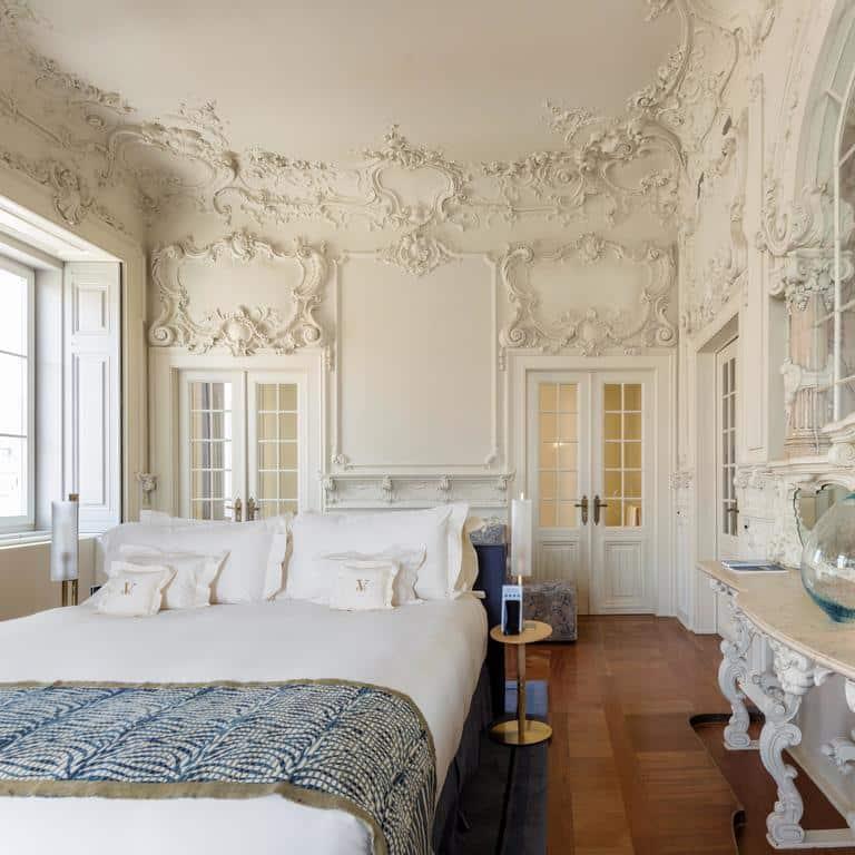 quarto no Hotel Verride Palácio