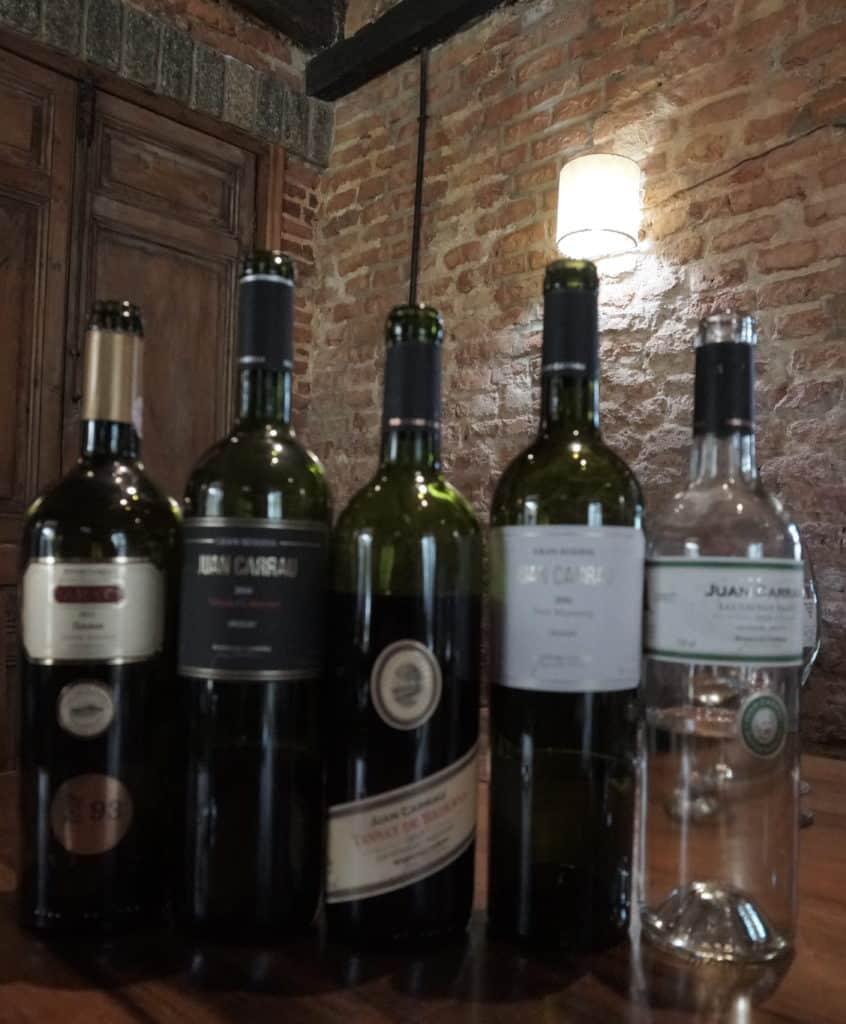 Vinhos da Bodegas Carrau