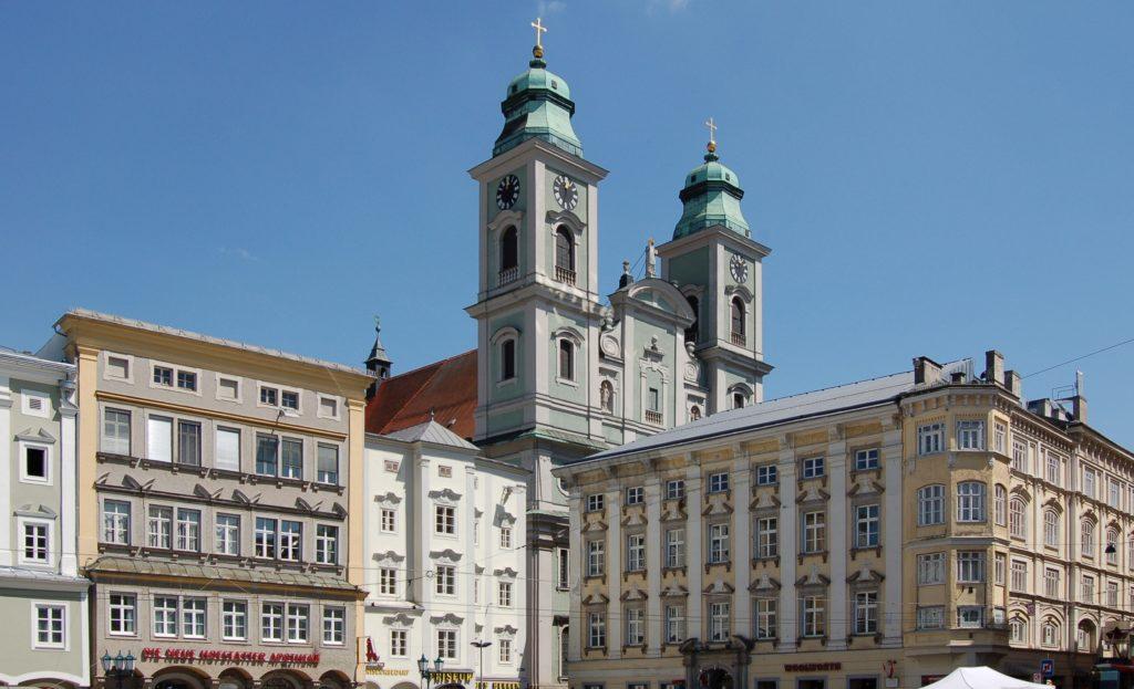 A Velha Catedral em Linz - Foto: Wikipedia