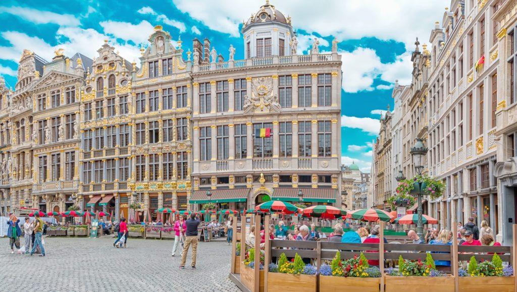 A Praça principal em Bruxelas na Bélgica - Saiba tudo sobre seguro viagem aqui!