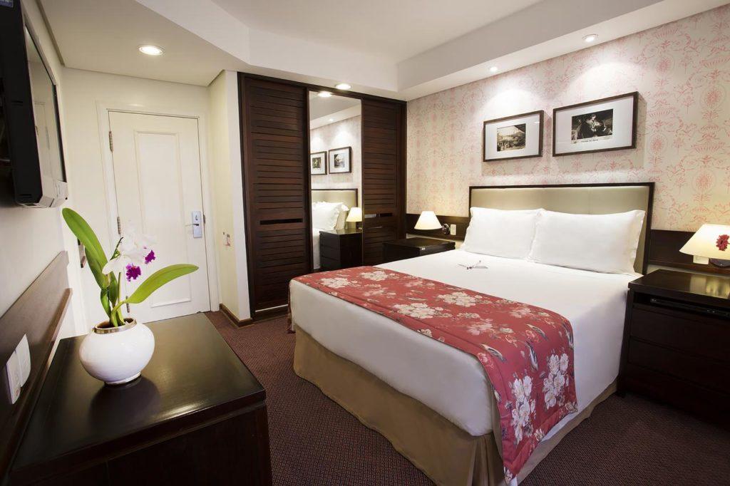 Quarto do Hotel Vila Inglesa