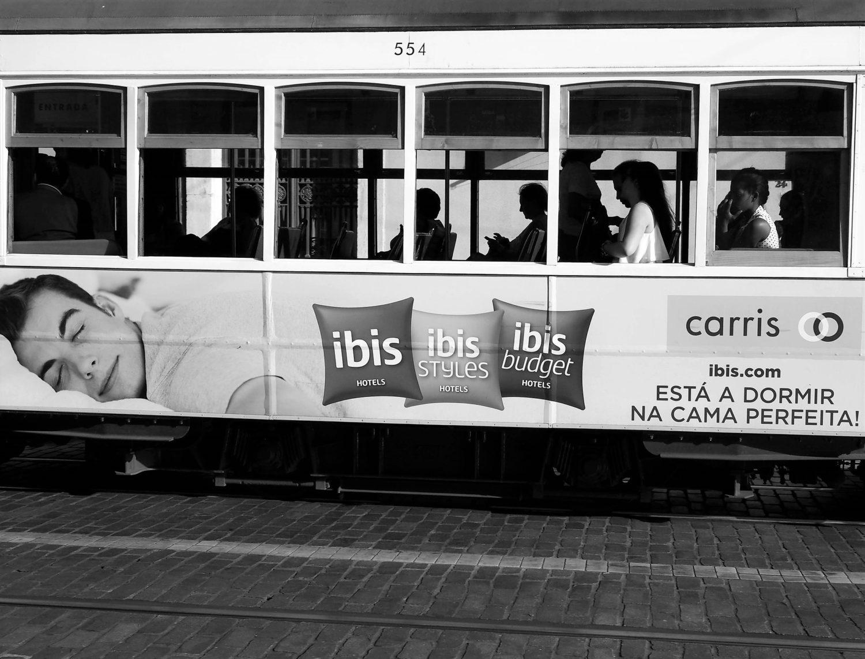 Imagem de propaganda dos hotéis ibis em Lisboa