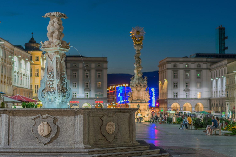 hauptplatz em Linz Austria