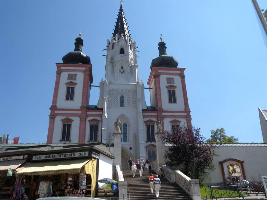 Basílica de Mariazell nas proximidades de Graz Austria