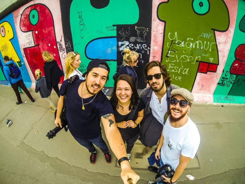 Muro de Berlim na Alemanha - Foto: Diego Imai