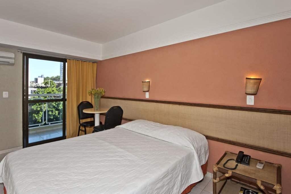 Quarto de casal do Natal Praia Hotel
