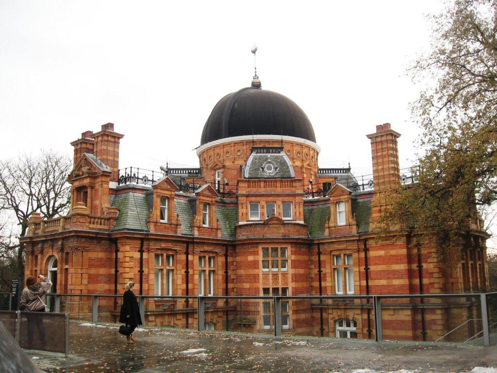Foto do Observatório de Greenwich, ponto turístico bem próximo a Londres
