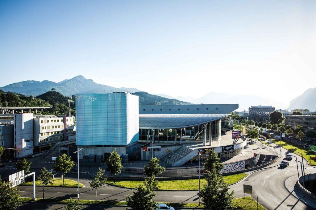 Parte do complexo Olympic World em Innsbruck - Foto: Site Oficial