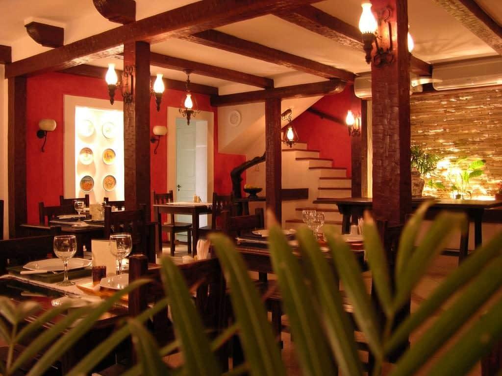 Restaurante na Pousada Caminho do Sol