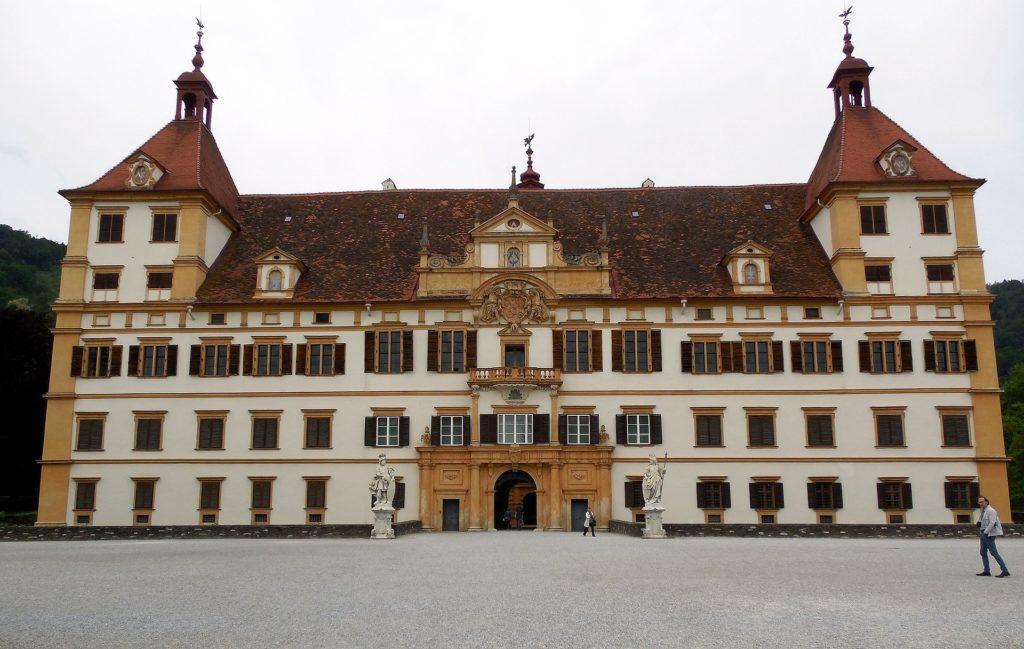 O Schloss Eggenberg em Graz Austria