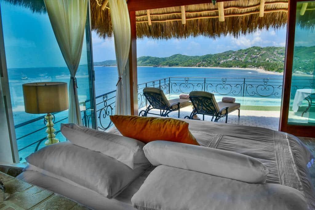 Super romântico e charmoso o Amor Boutique Hotel com vista para o mar