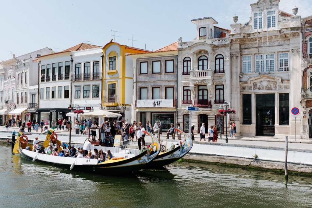 A charmosa cidade de Aveiro em Portugal - lua de mel em Portugal