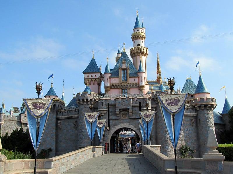 Castelo da Bela Adormecida na Disneyland California