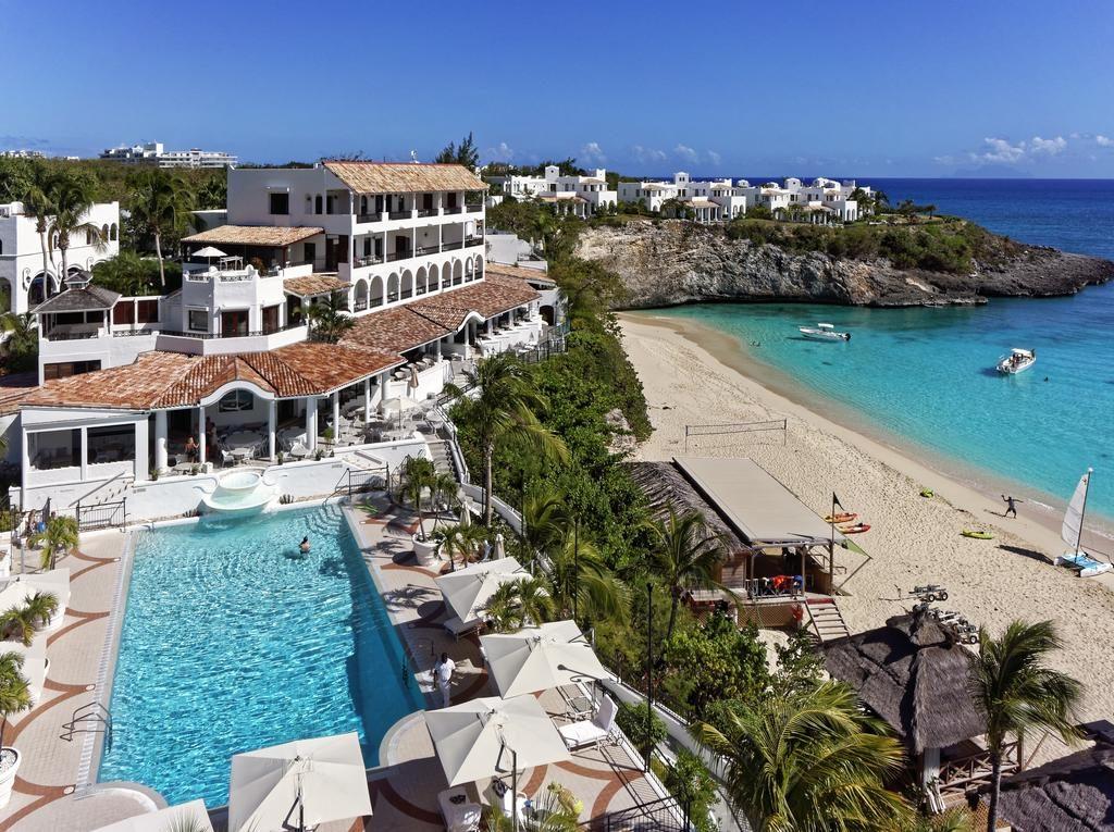 Vista de cima do Belmond La Samanna em St Maarten