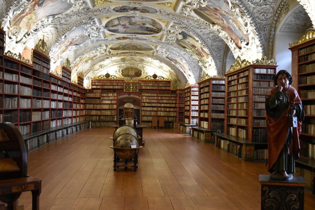 A biblioteca do Monastério Strahov