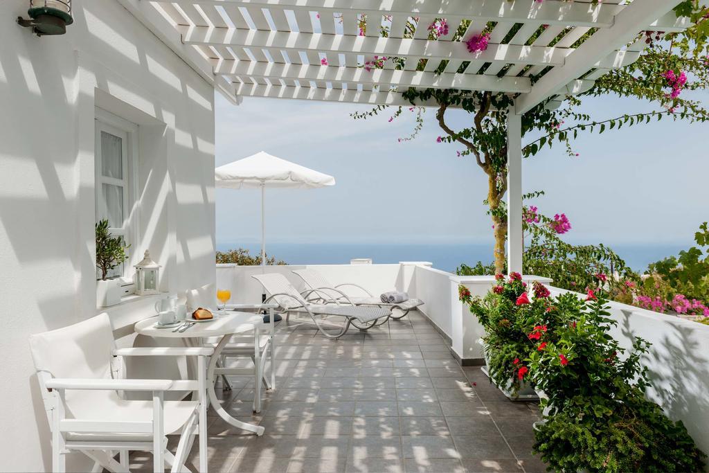 Area da Casa Bianca em Santorini