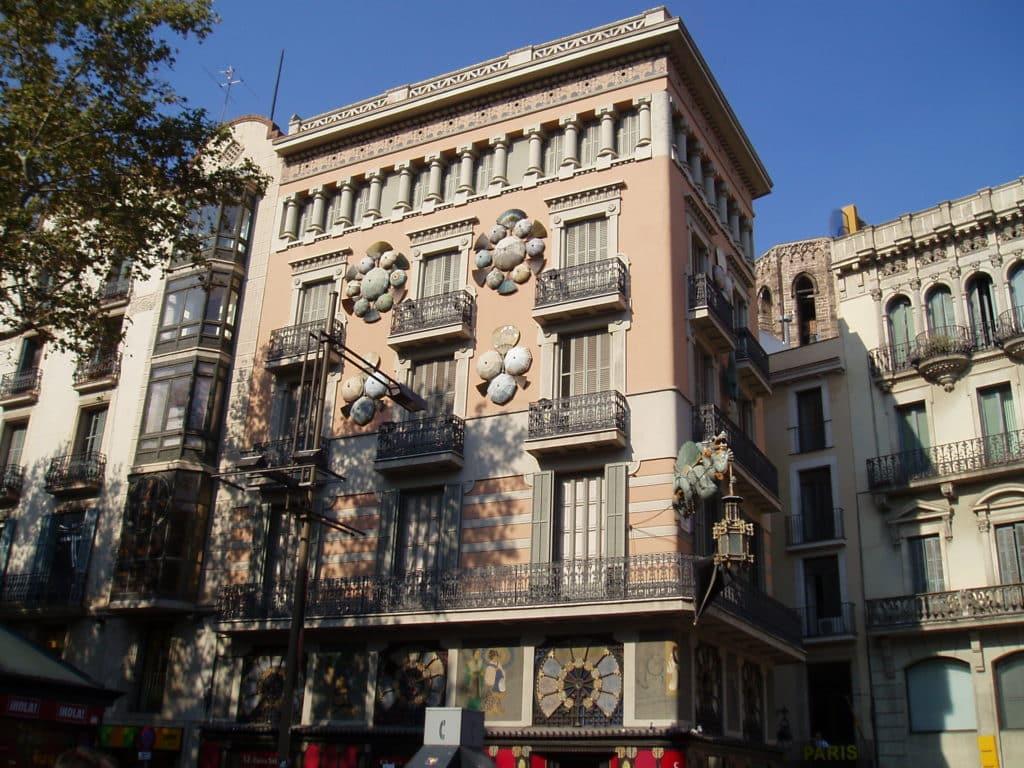 Parte externa da Casa Bruno Cuadros
