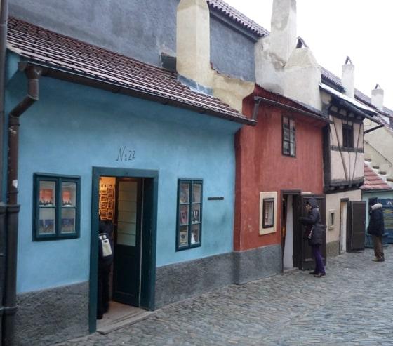 Casa de Franz Kafka na Golden Lane