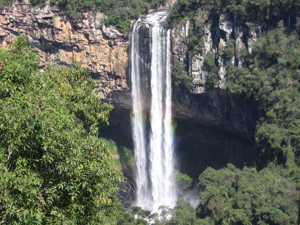 Cascata do Caracol em Canela - Foto: Marcelo Gonçalves via Flickr - - Pontos turisticos Gramado