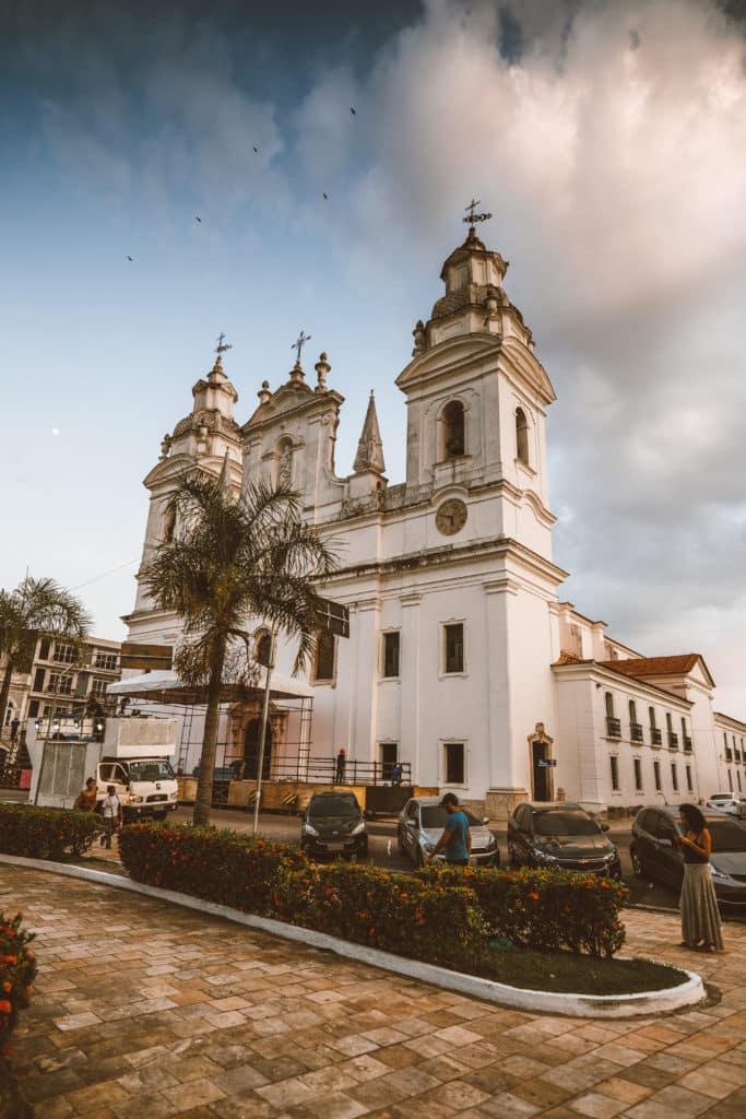 Foto da Catedral da Sé de Belém, no Pará
