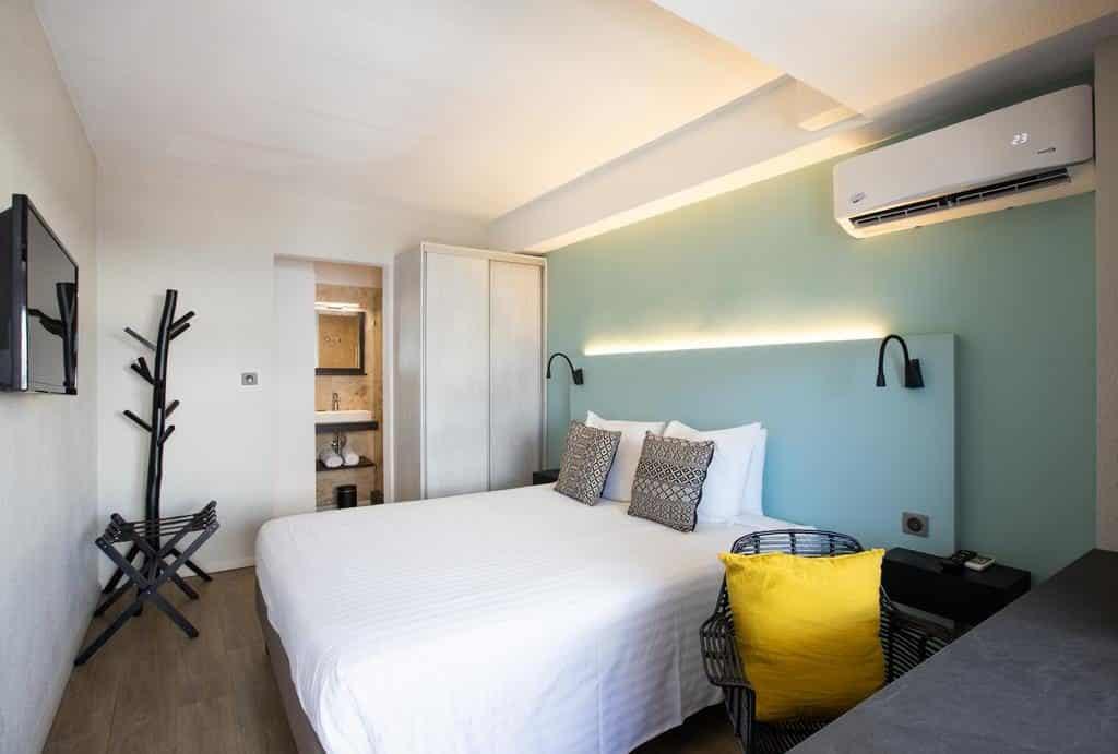 Quarto do Centr'Hotel em St Maarten