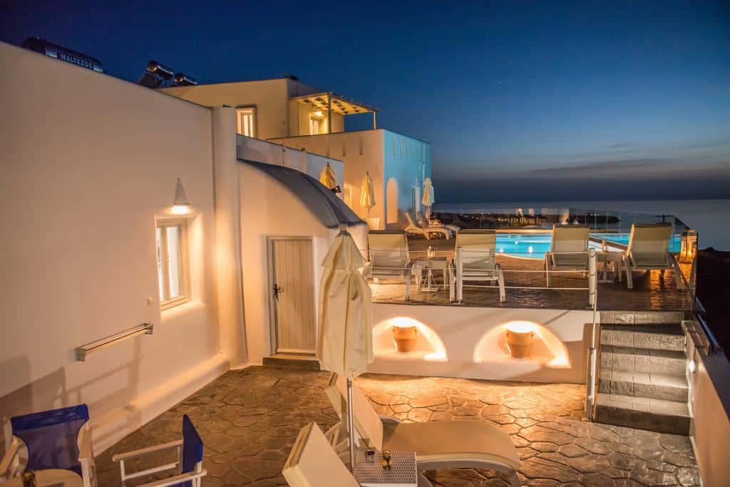 Dreamland Ηouses - Onde ficar em Santorini