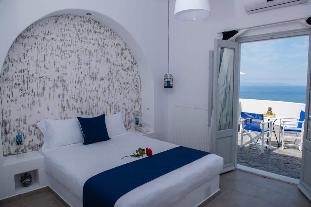 Quarto do Dreamland Ηouses - Onde ficar em Santorini