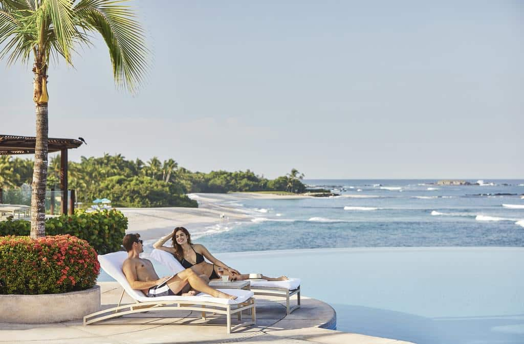 Que tal essa vista no Four Seasons Resort em Punta Mita?