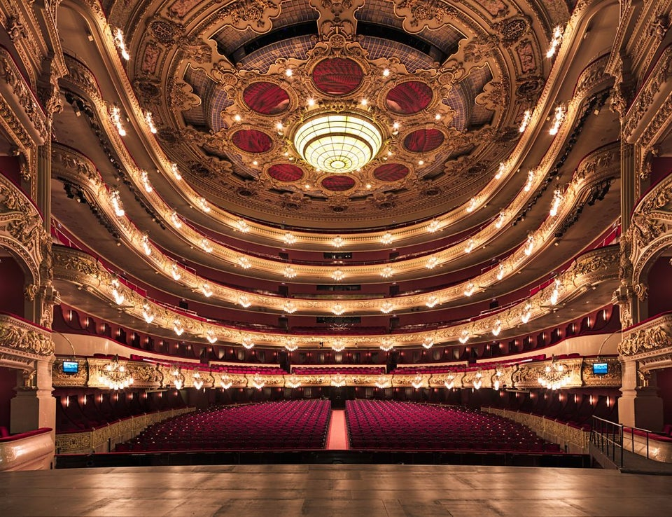 Gran Teatre del Liceu nas Ramblas