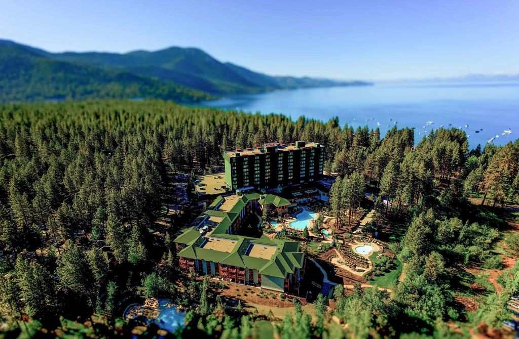 Toda a mordomia e qualidade do Hyatt Regency Lake Tahoe Resort, Spa & Casino