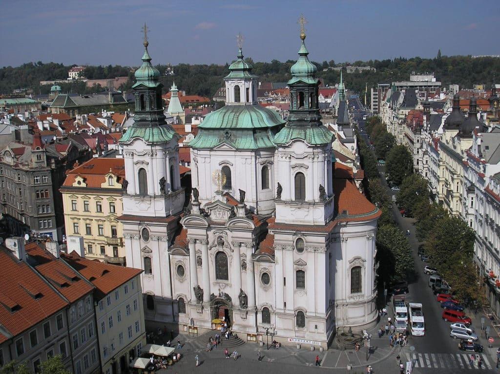 A Igreja de São Nicolau em Praga