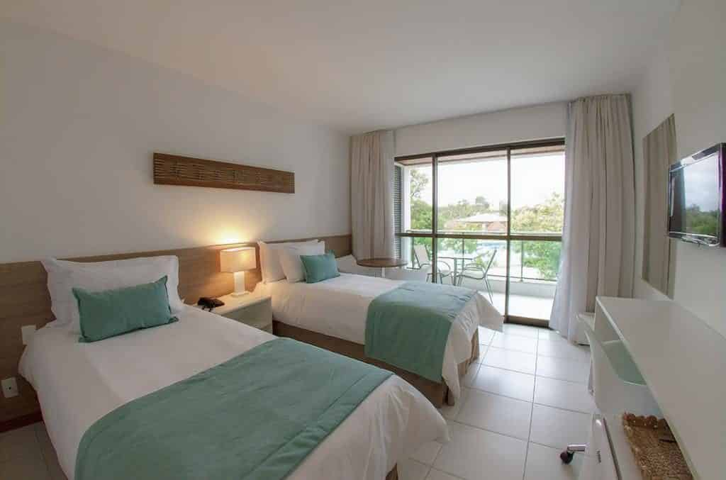 Quarto no Iloa Resort All Inclusive