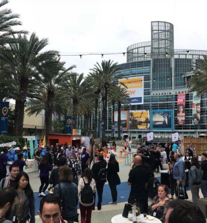 Vista do Anaheim Convention Center, onde aconteceu o IPW 2019