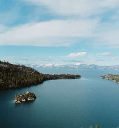 Foto de Emerald Bay, baía no Lake Tahoe California