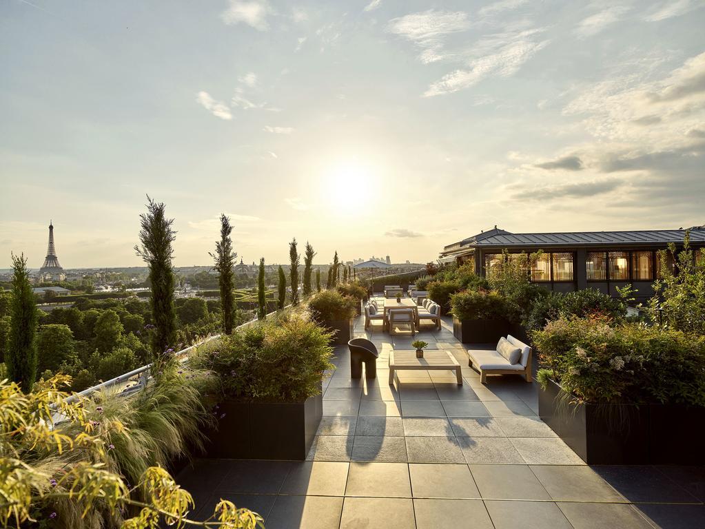 Rooftop do Le Meurice em Paris