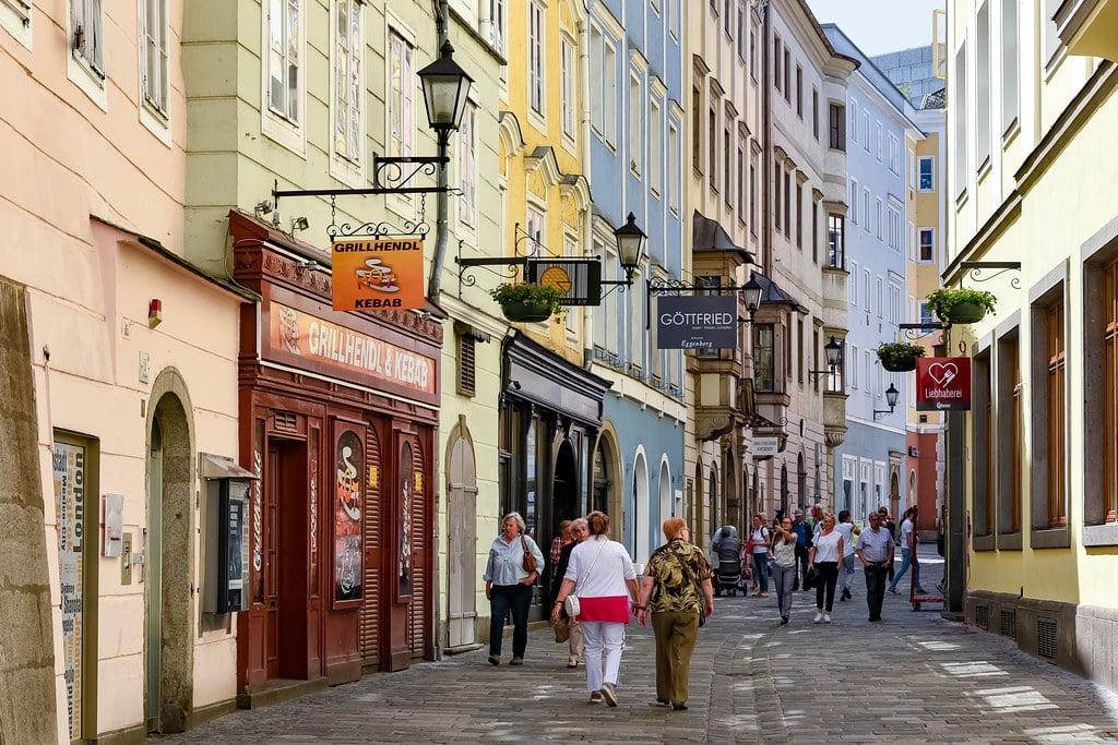 Ruazinhas de Linz na Áustria - Foto: Jorge Franganillo via Flickr