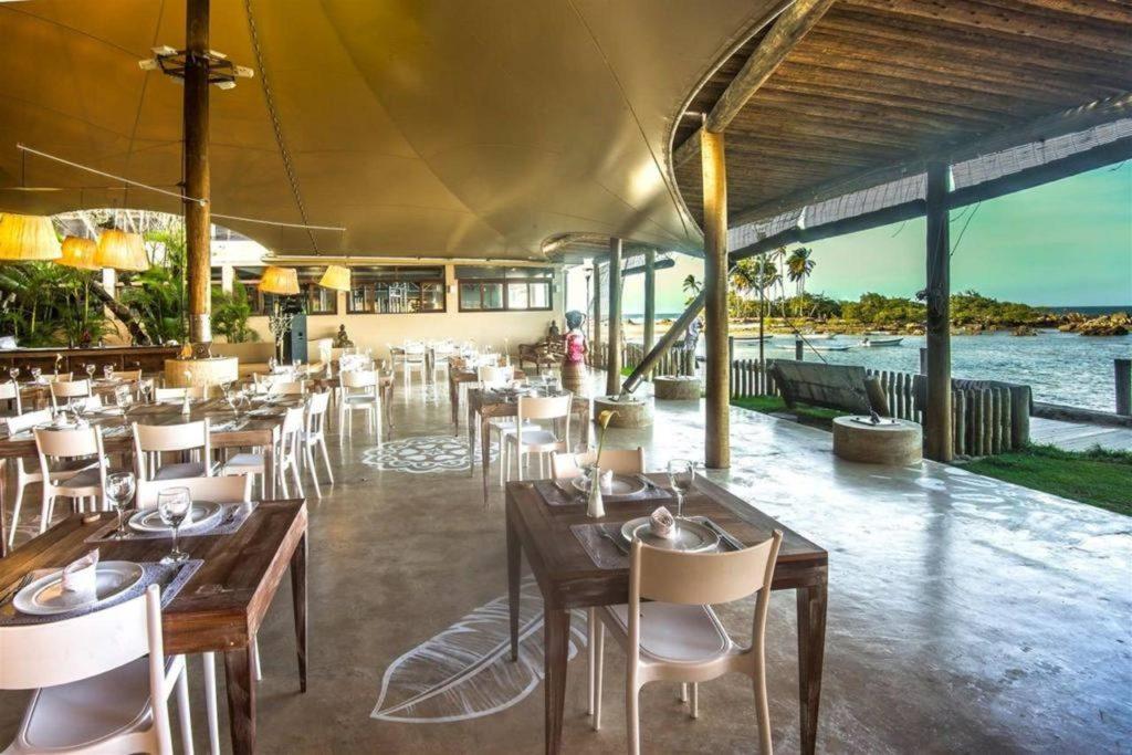 restaurante na Pousada Minha Louca Paixão em Morro de São Paulo lua de mel